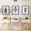 Scandinavian Art Prints | Nordic Wall Art | Nursery Set of 3 Prints | Kids Wall Art | The Carla Collection | Blue Prints