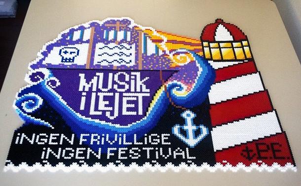 MUSIC FESTIVAL ART: MUSIK I LEJET - VIEW >