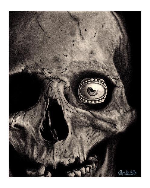 Anatomy Print | The Great Frog London Print | Skull Art | Skeleton Print | Skull Illustration | Skull Print | Gothic Art
