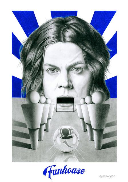 JACK WHITE ART PRINT - VIEW >
