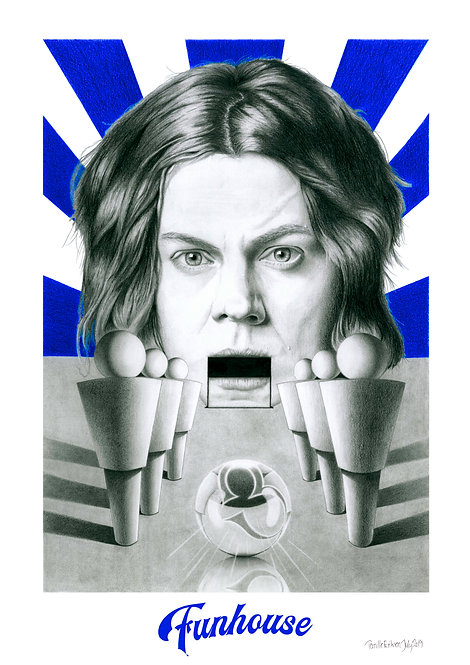 Jack White Art | Jack White Art Print | Jack White Poster Print | The White Stripes | The Raconteurs | The Dead Weather
