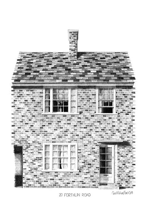 Beatles Art Print | Paul McCartney | The Beatles Childhood Home | Architectural Art Print | Liverpool Print | Beatles Gift
