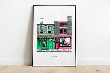 Liverpool Art Print | Liverpool Illustration | Liverpool City Art | Architectural Art Print | Liverpool Architecture | Scouse Gift