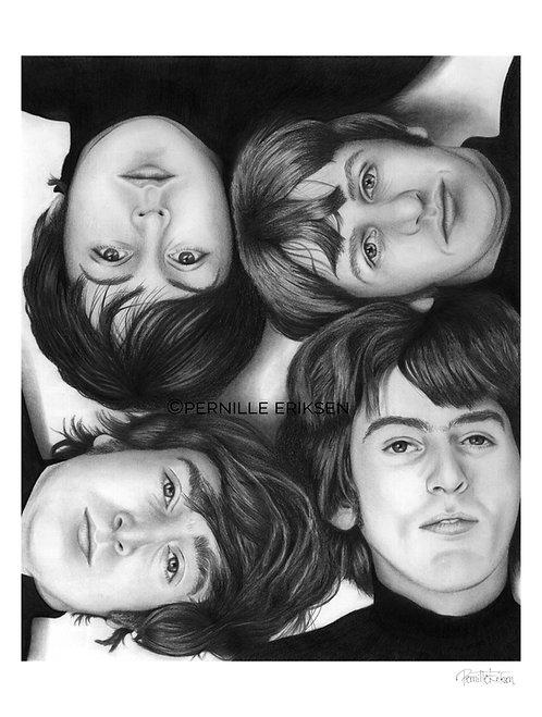 Beatles   Beatles Art   The Beatles Art   Beatles Artwork   The Beatles Poster   The Beatles   Beatles Wall Art   Lennon