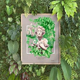 Urban Jungle | Botanical Art | Leaf Print | Green Print | Highgate | Hampstead | Hampstead Heath | Highgate Cemetery | The Magnificent Seven