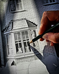 London House Illustration - London Architectural Illustration - Architectural Illustration - London House Commission