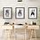 Scandinavian Art Prints | Nursery Wall Art | Kids Wall Art | Set of Three A4 Prints | The Olivia Collection | Nordic Prints