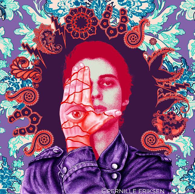 Elvis album cover design for Suspicious Minds
