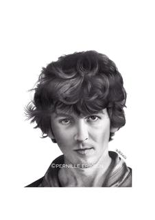 Beatles Art • George Harrison Art Print