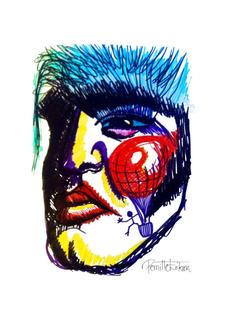 Noel Fielding's Favourite Elvis Art Print