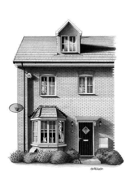 LONDON HOUSE ILLUSTRATION - VIEW >