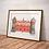 The Beatles Art Print | Strawberry Fields Art Print | Liverpool Art Print | The Beatles Illustration Print | Beatles Gift