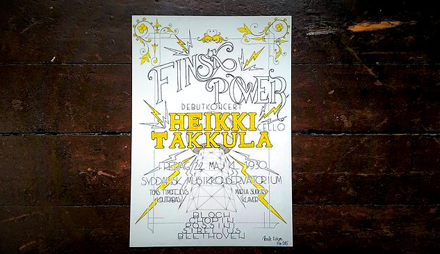 CONCERT POSTER - VIEW >