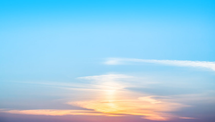 Beautiful Glaring Flames Of Sunset_edite