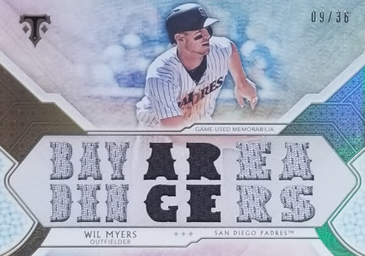 Wil Myers Triple Relic /36