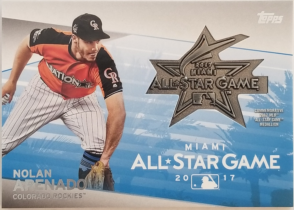 Nolan Arenado 2018 Topps All Star Game Pin