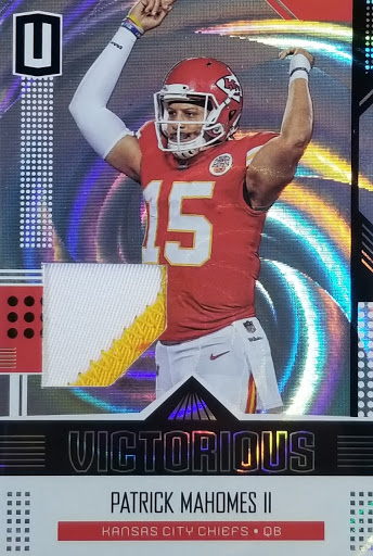 Mahomes Patch Relic Unparalleled