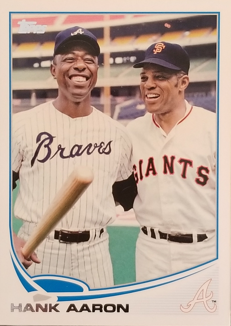 2013 Topps SSP Hank Aaron & Willie Mays