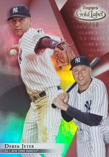 Jeter Gold Label Red /50