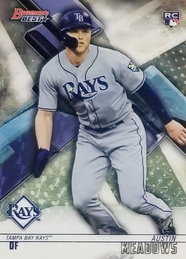 Our first SUPERFRACTOR! 1/1 Austin Meadows 2018 Bowman's Best RC
