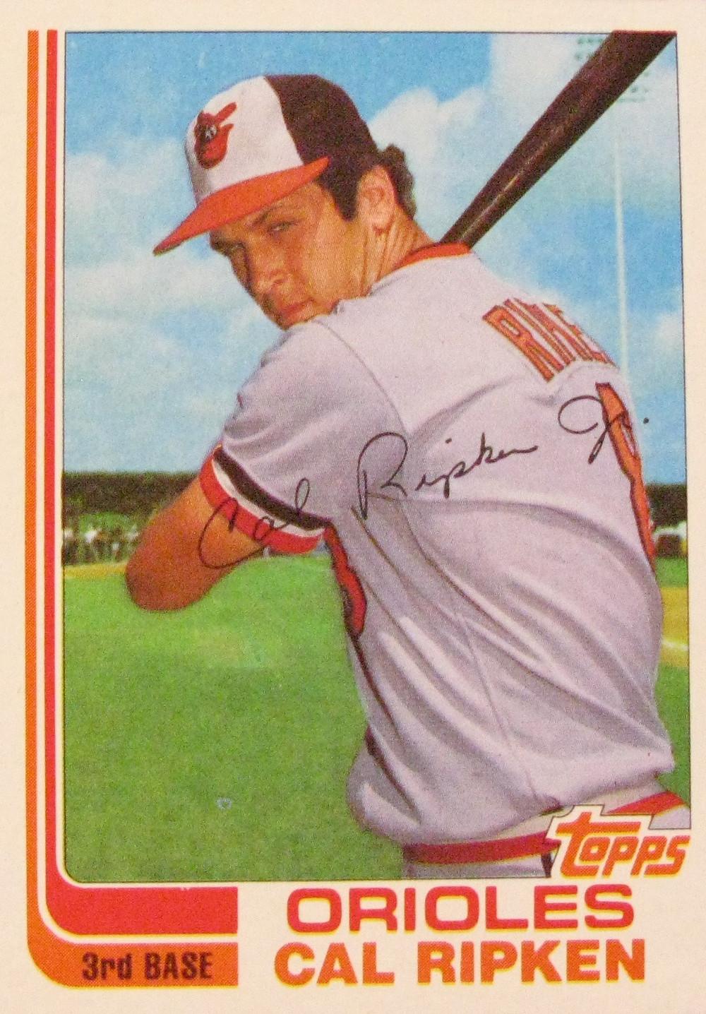 1982 Topps Cal Ripken