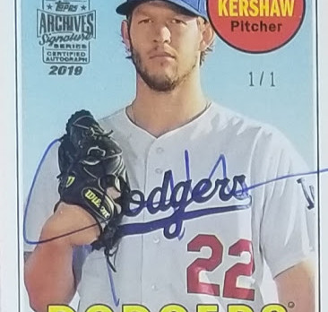 Case Break Recap - 2019 Archives Signatures