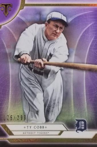Ty Cobb Purple /299
