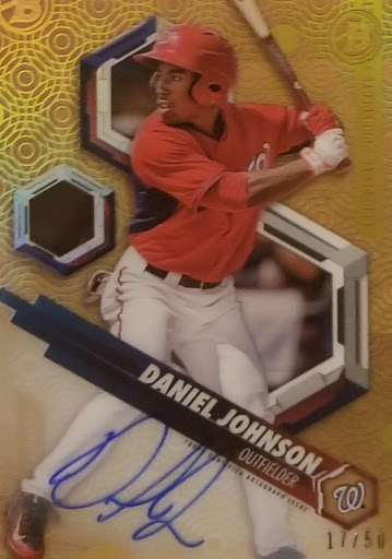 Daniel Johnson Gold /50