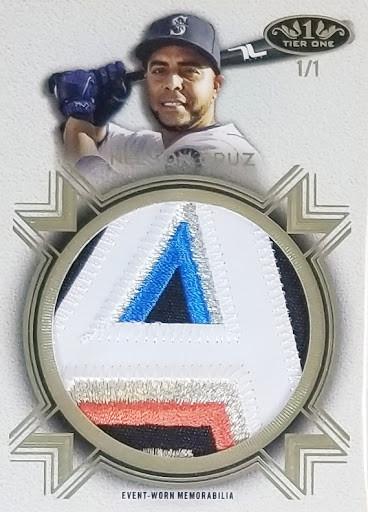 Nelson Cruz All Star Relic 1/1 Topps Tier 1