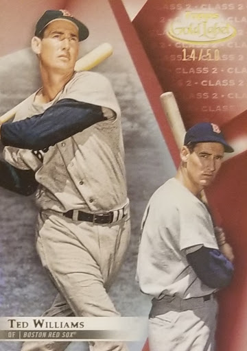 Ted Williams Red Class 2 /50