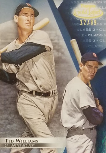 Ted Williams Blue Class 2 /99