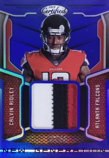 Ridley Patch Relic Certified