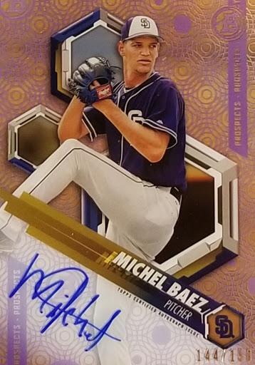 Michel Baez Purple Auto High Tek