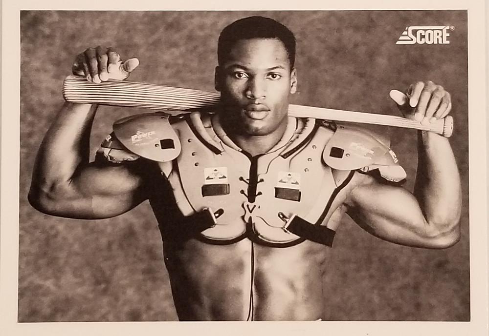 1989 Score Baseball Bo Jackson