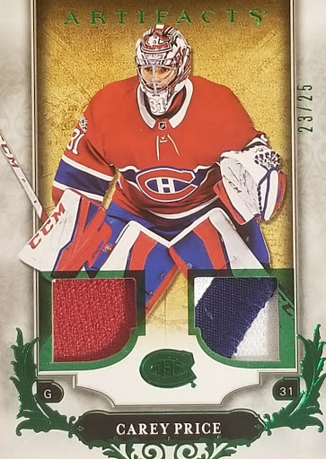 Carey Price Dual Relic/Patch /25
