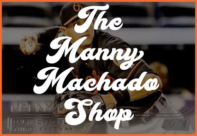 Manny Machado Baseball Cards for Sale