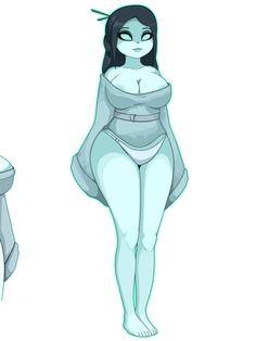 Kimiko Character Design