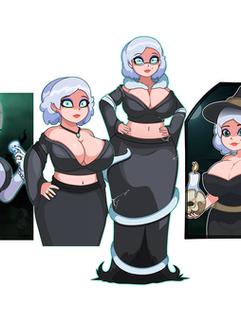 Sandra's Character Design
