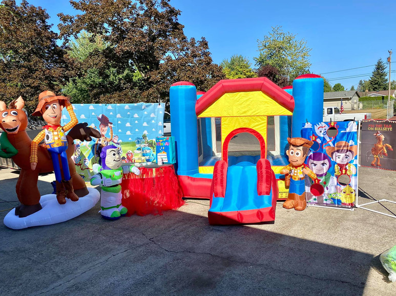 Toys Story theme decorations