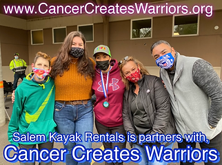 Cancer Creates Warriors is partners with