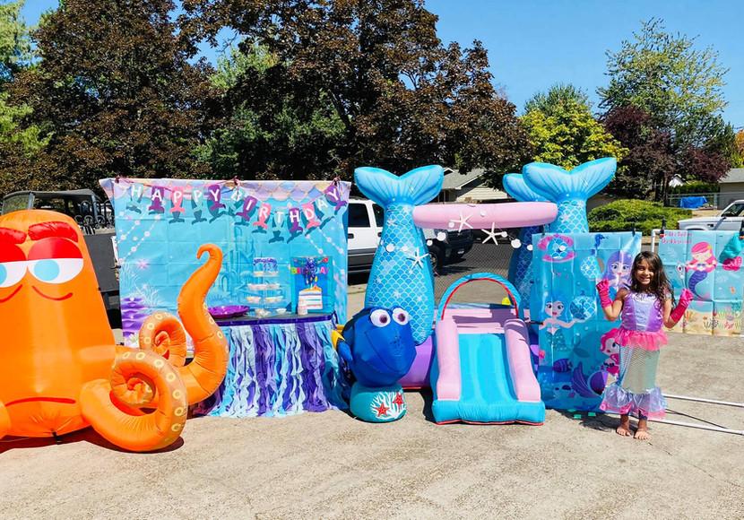 Under the sea Mermaid themed