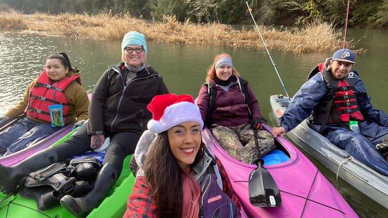 Christmas Eve Morning Paddle