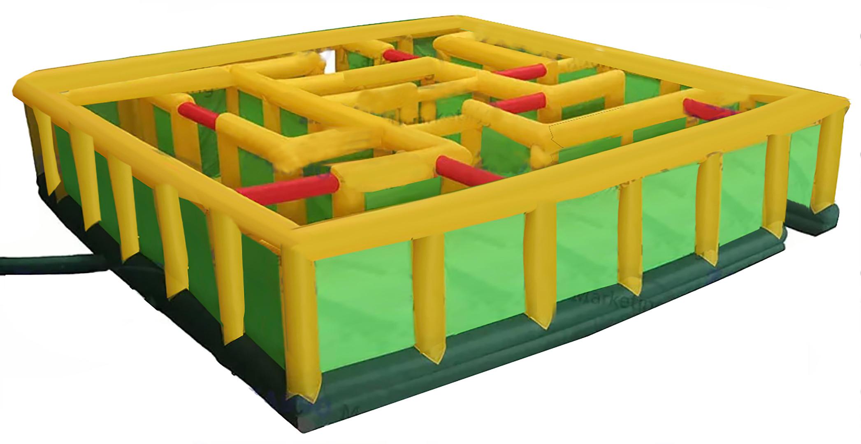 Inflatable Laser Tag Arena Maze by Salem Jumper Rentals