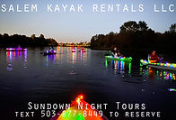 Salem Kayak Rentals Sundown Tours in Salem Oregon