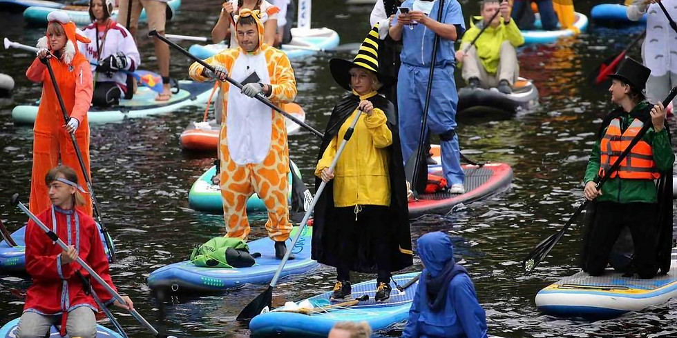 Halloween Kayak or Paddle Board Costume Contest