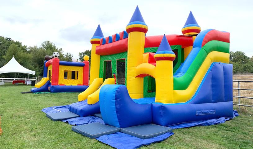 Combo Castle and Jungle Jumpers, by Salem Jumper Rentals LLC