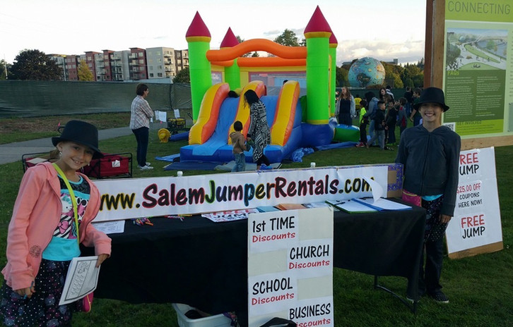 FIRST PHOTOS OF SALEM JUMPER RENTALS LLC