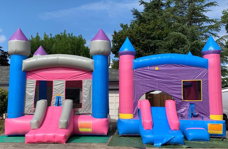Single Slide Bounce House Rentals by Salem Jumper Rentals
