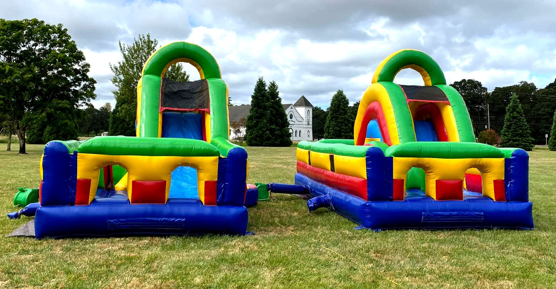 Single Obstacle Course by Salem Jumper Rentals LLC