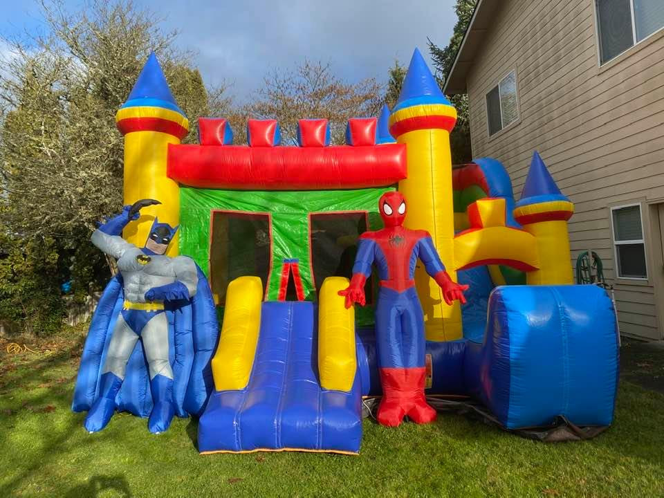 Combo Castle bounce house rental